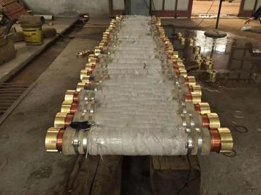 电石炉铜水冷连接件
