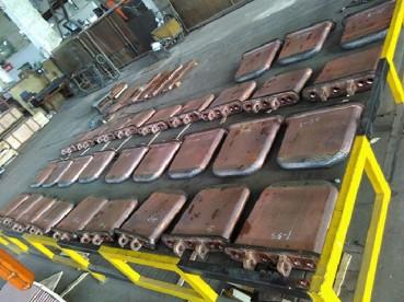 耐磨性纯铜冷却板