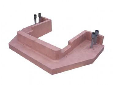 内铸蒙乃尔管铜铸件